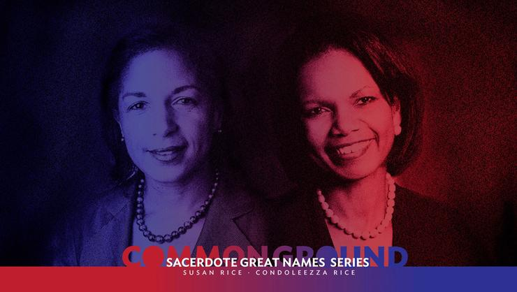 Susan Rice and Condoleezza Rice