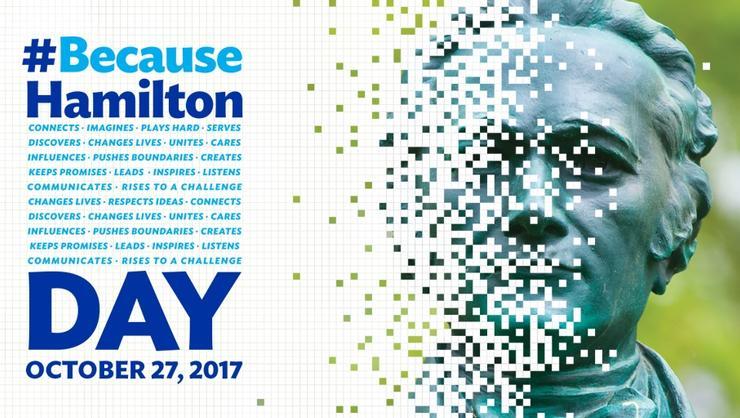 #BecauseHamilton Day notice