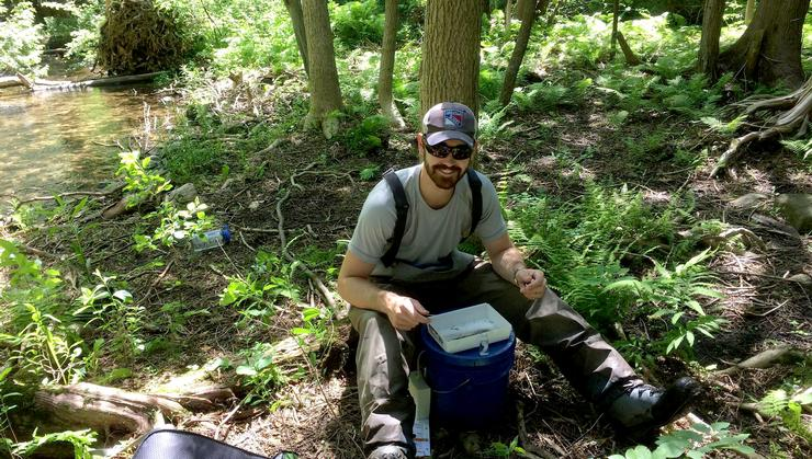 Evan Buitenhuis '18 is an intern at Trout Unlimited Canada.