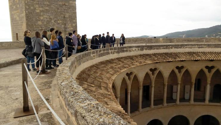HCAYS at the castle of Bellver on Mallorca.