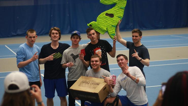 The brothers of Chi Psi won HAVOC's Kickball Tournament.