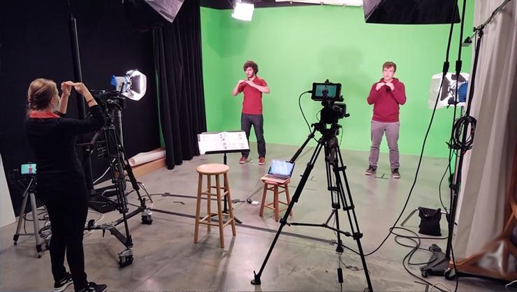 screenshot of digital Hamilton video