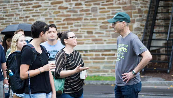 President Wippman welcomes new students