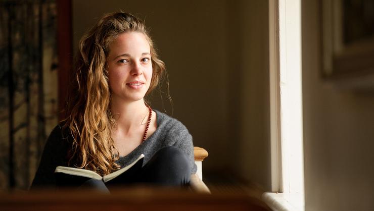 Gaela Dennison-Leonard '16.