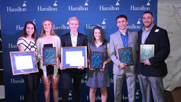 2016 Jack B. Riffle Award winnners