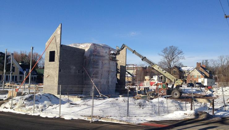 Beginning construction on the Joel and Elizabeth Johnson Center for Health and Wellness