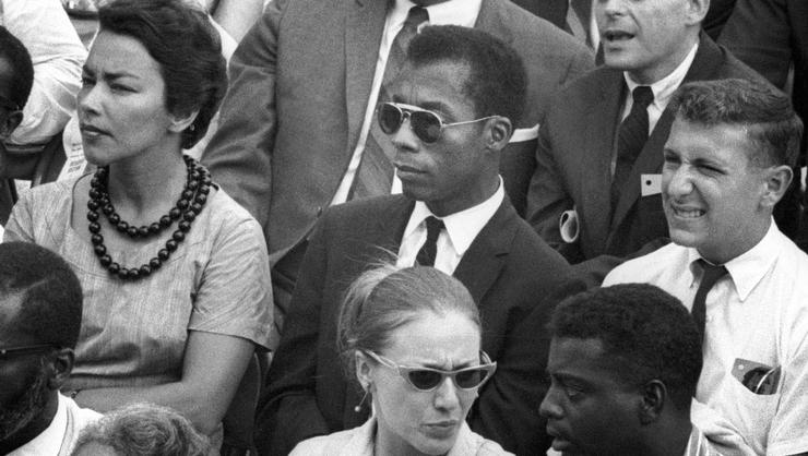 James Baldwin in I AM NOT YOUR NEGRO, a Magnolia Pictures release. Photo credit @Dan Budnik all rights reserved. Photo courtesy of Magnolia Pictures