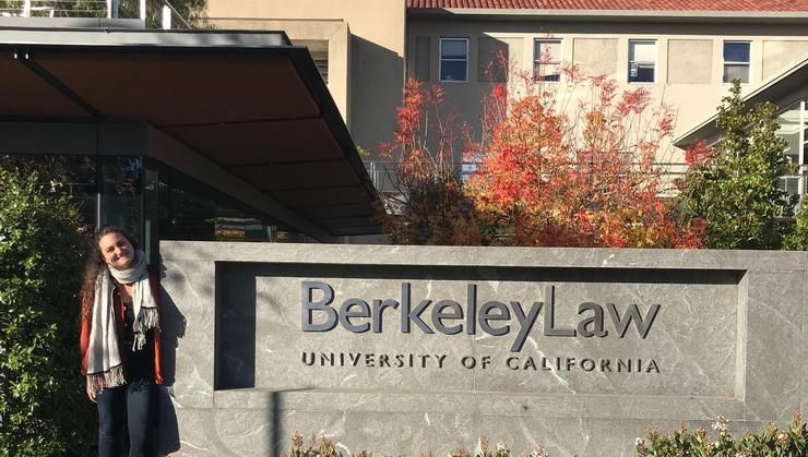 Allie Goodman '15 is now a student at Berkeley Law.