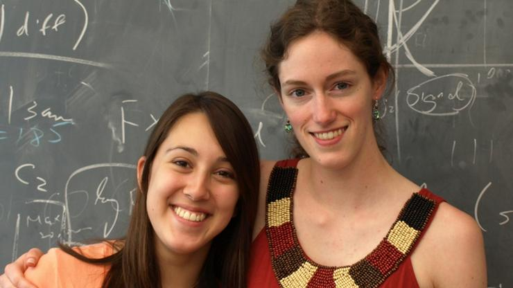 Katie Pierce '14 and McKinley Brumback '14.