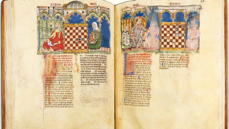 Pages in <em>Libro de ajedrez, dados y tablas</em>