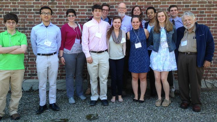 Math students and faculty attended the MAA Seaway Section meeting at SUNY Geneseo.