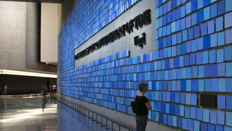 Spencer Finch '85 created an installation commissioned for the New York City National 9/11 Memorial & Museum.