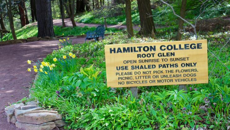 Hamilton College Root Glen