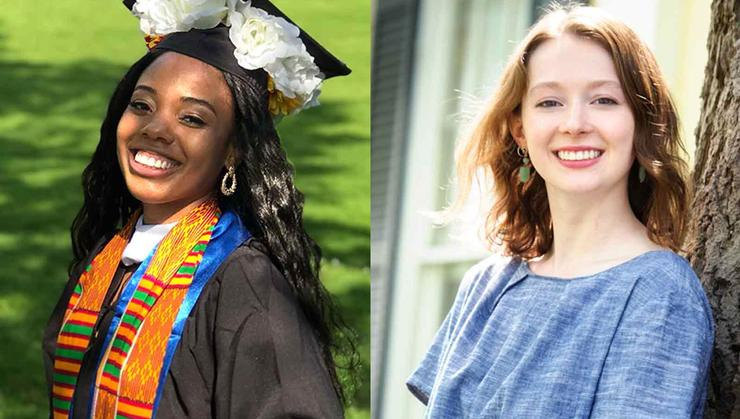 Jasmine Murray '19, Meredith Jones '19