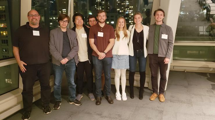 Professor Russell Marcus and seven philosophy seniors attended the 2019 Conference on Issues in Modern Philosophy at NYU.