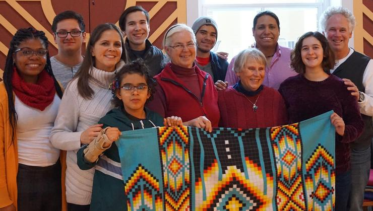 Organizers, presenters, and participants in the KAIROS Blanket Exercise™.