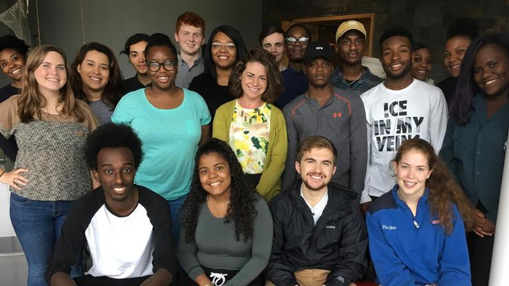 Opportunity Programs' student staff.