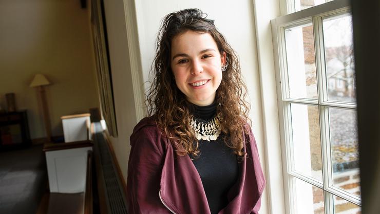 Watson Fellowship recipient Paula Ortiz '18