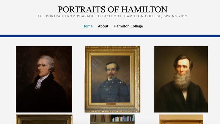 Portraits of Hamilton