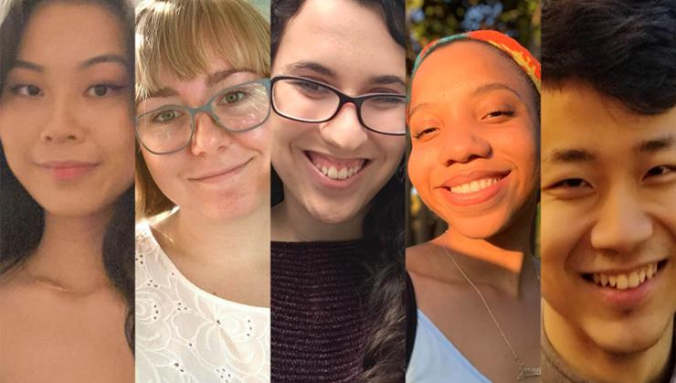Remote Student Advisors: Lucy Zhang, Madison Lazenby, Sabrina Yvellez, Yvenide Belizaire, and Peter He