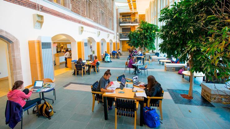 Taylor Science Center Atrium