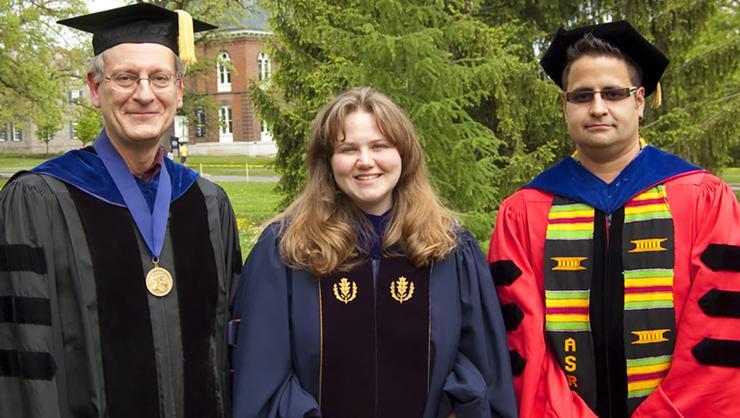 Douglas Weldon, Nicole Snyder and Angel DavidNieves.