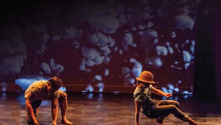 H.T. Chen & Dancers perform South of Gold Mountain