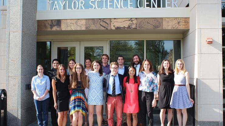 New members of <em>Sigma Xi</em> were inducted on May 18.
