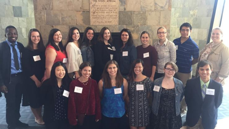 Hamilton students at the New York 6 Undergraduate Research conference at Skidmore College.