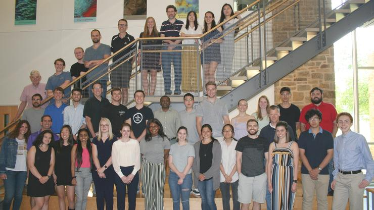 Hamilton students and faculty were joined by colleagues from Colgate University and Hobart and William Smith Colleges for SmORS, the annual Summer Organic Research Symposium.