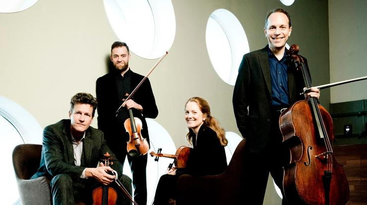 The St. Lawrence String Quartet will open the season on Sept. 15.