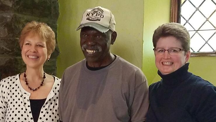 L-R: Linda Michels, Dan Colter and Mary Collis.