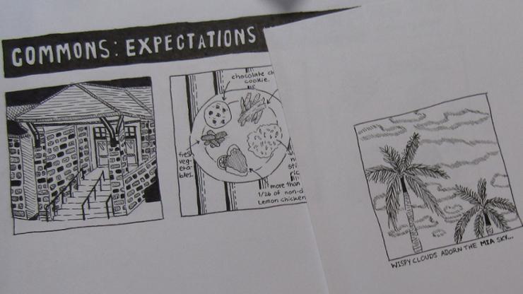 """Illustrations by Myranda """"Randy"""" Tristant '22."""