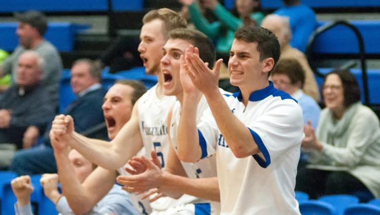 The men's basketball team is ranked 18th in this week's D3hoops.com Top 25 poll.