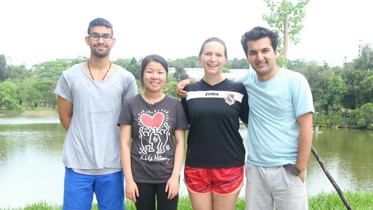 Angel Pichardo, Suxian (Suzy) Lin, Katherine (Katie) Guzzetta and Abbas A. Khan.