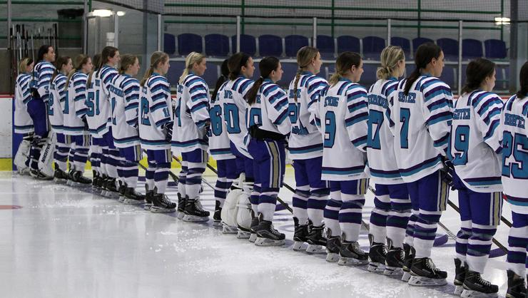 The women's ice hockey team.