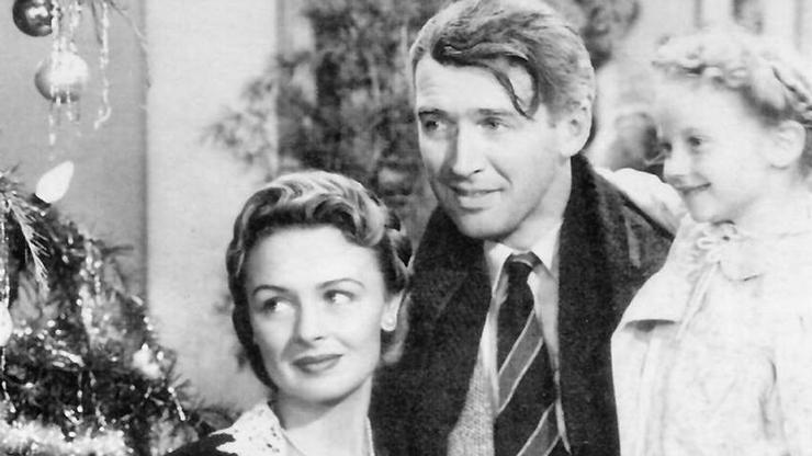 A still from the 1946 classic 'It's A Wonderful Life.' National Telefilm Associates