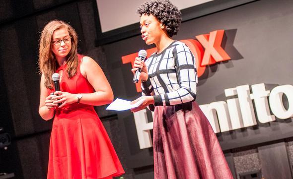 TEDx student organizers