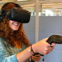 Viewing a virtual reality project