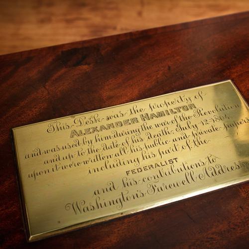 Alexander Hamilton's lap desk
