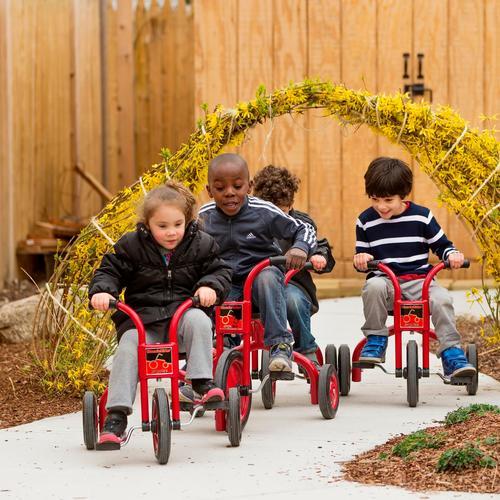 Kids at Patty Lewis preschool