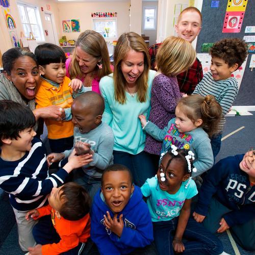 Patty Lewis at Adam J Lewis preschool