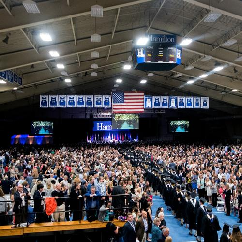 Hamilton College Graduation 2020.Commencement 2020 Home Hamilton College