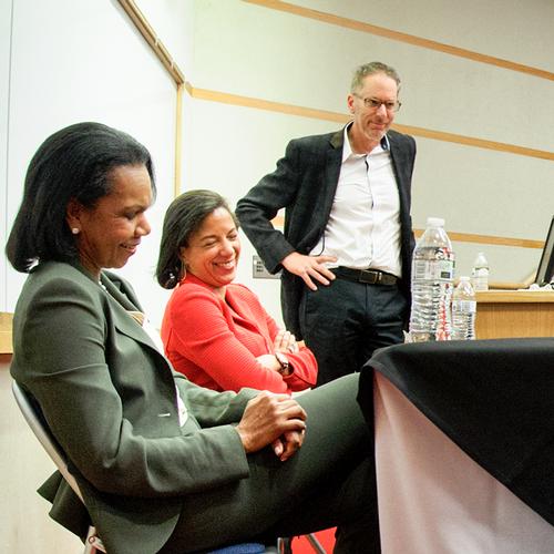 Condoleezza Rice and Susan Rice