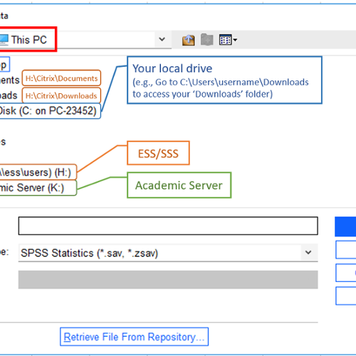 SPSS_drive_mapping