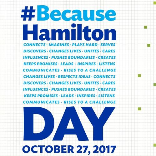 BecauseHamilton Give Day