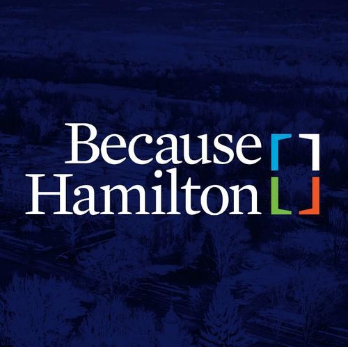 Because Hamilton graphic
