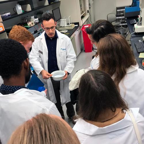 Tour of Biogen Lab