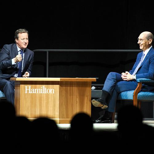 David Cameron, Pres. Wippman