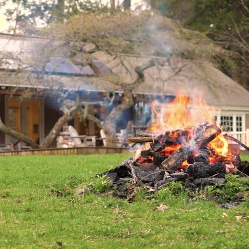 Glen House camp fire